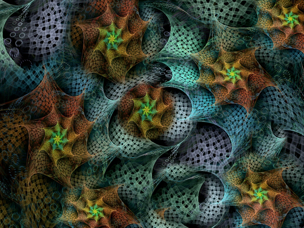 Fractal Starfish by Thelma1