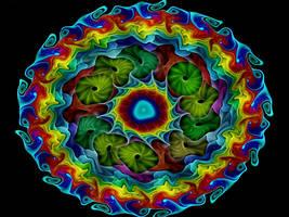 Crazy Rainbows by Thelma1