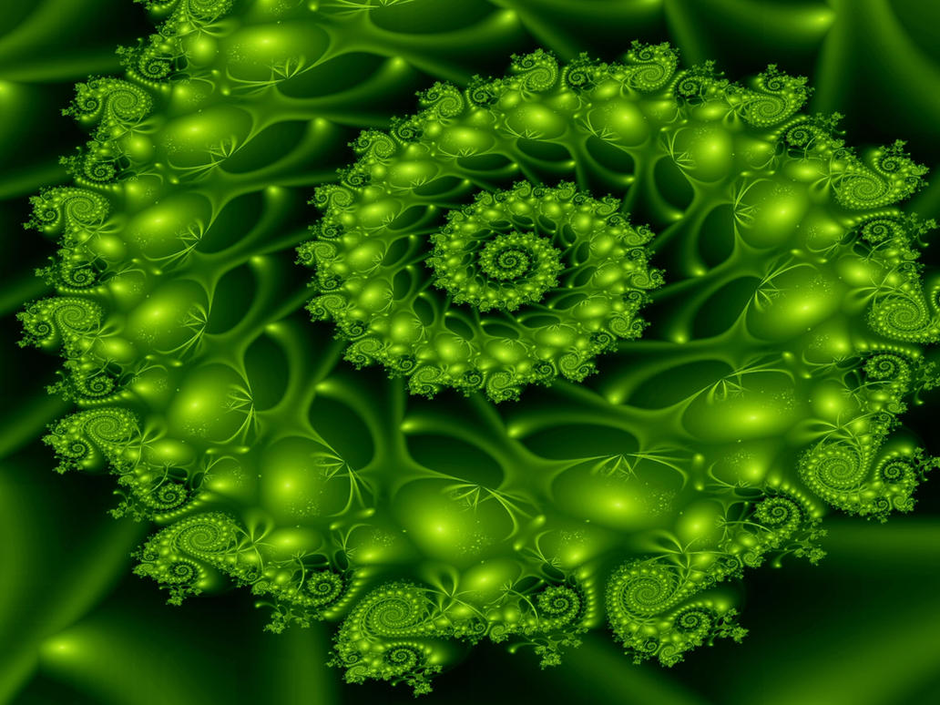 Gorgeous Green by Thelma1