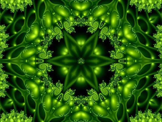 Green Forest Lights