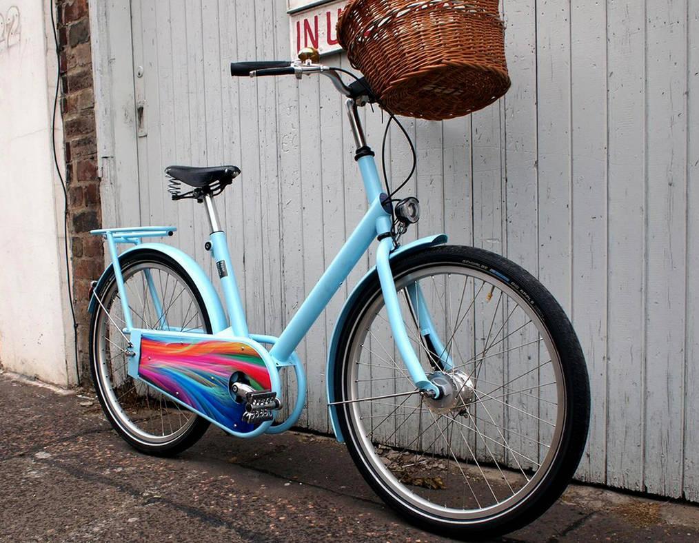 Rainbow Bicycle.