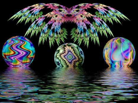 Wings, Orbs, Water