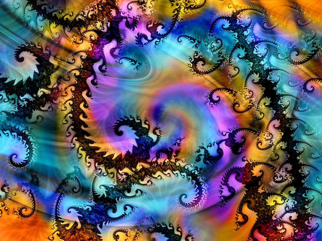 Rainbow Turmoil by Thelma1