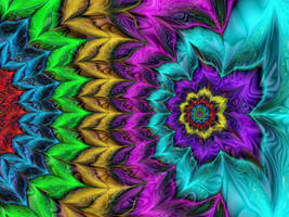 Psychedelic Colours by Thelma1