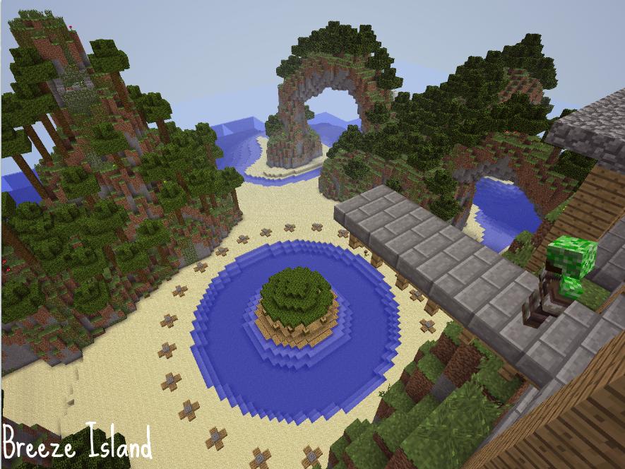 Survival Games Map Breeze Island
