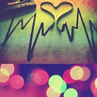 the rhythm of my heart.