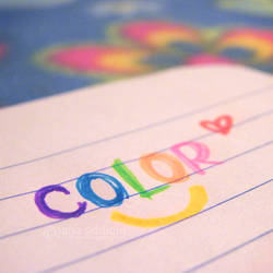 colors make me smile.