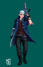 Devil May Cry 5 - Nero by MidlightDragoon