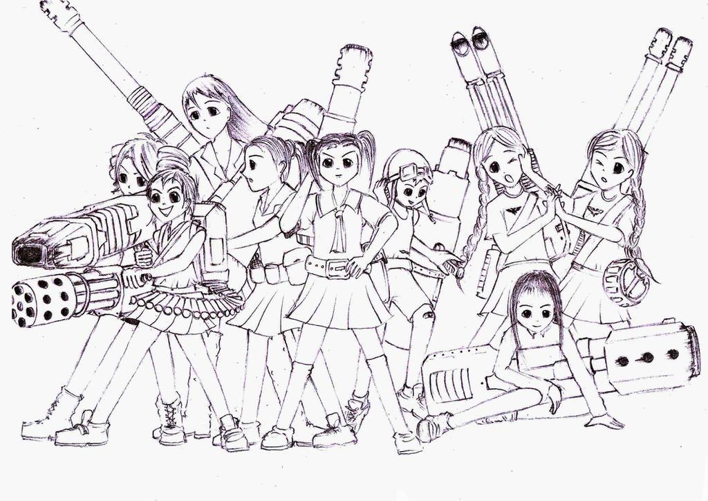 Toaru Kagaku no Leman Russ by sciencevsart