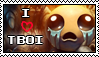 The binding of Isaac Stamp by Icognito-chan