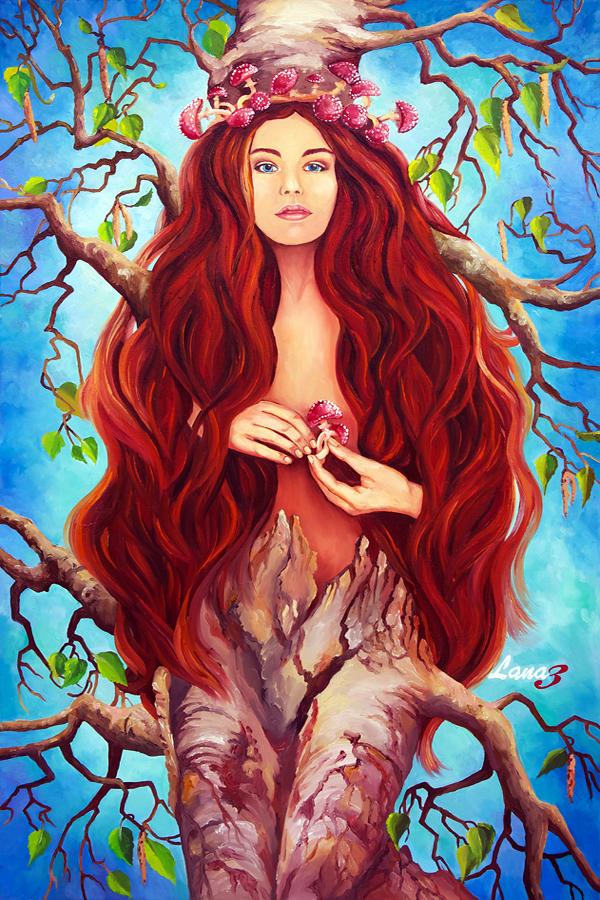 LADY TREE ( a few changes) by artediamare