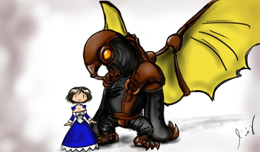 Elizabeth and Songbird by AuretheAudio
