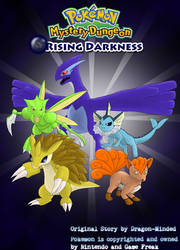 PMD Rising Darkness Cover Page by Dragon-Minded