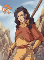 Patreon reward- Asami, airbender AU. by zkoyllar