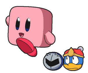 Kirby is a freaking cube by Anthony-Zel