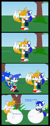 [Euvoria] Andre and Tails fast blue meals by Anthony-Zel