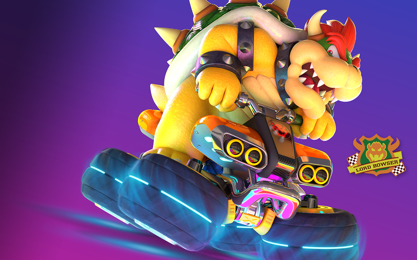Mario kart 8 deluxe bowser atv wallpaper by bowserspears - Mario kart 8 deluxe iphone wallpaper ...