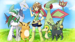 Pokemon OC - Amethyst