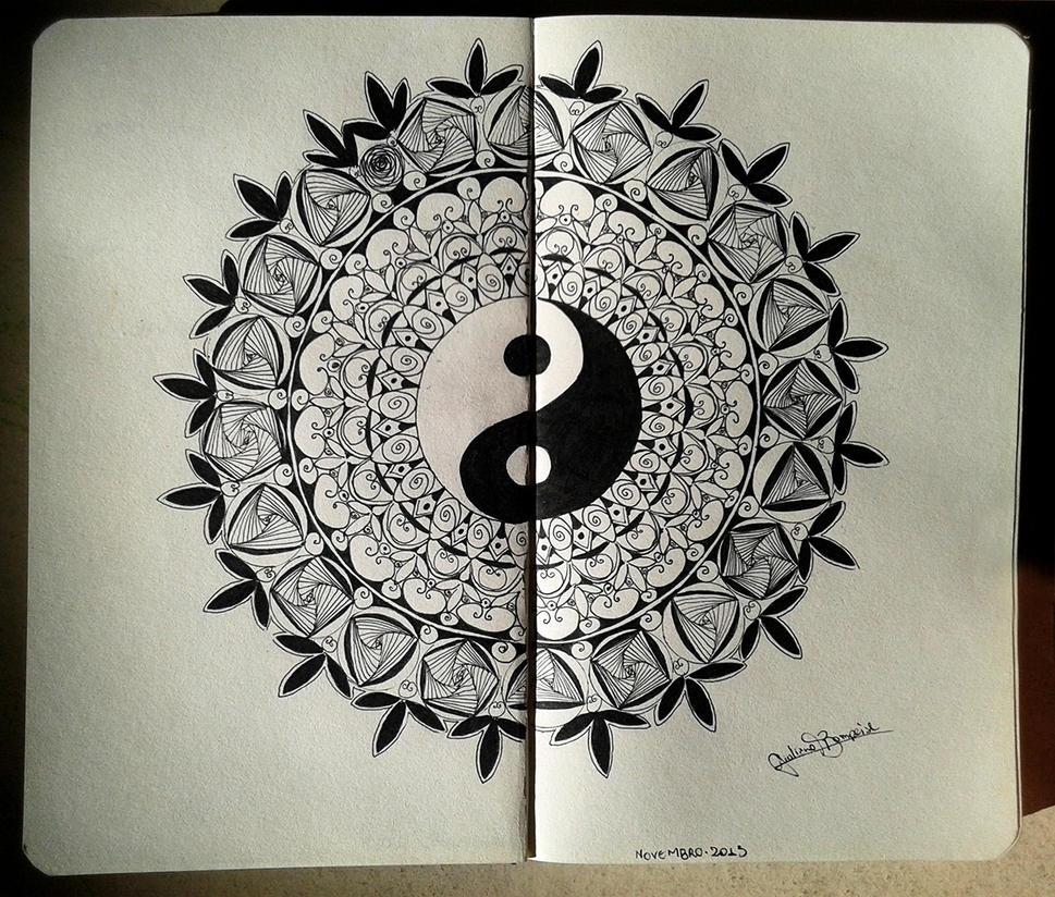 Yin Yang Mandala by GiulianoBompeixe