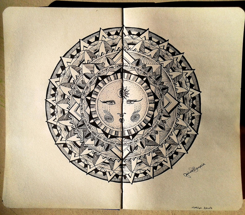 Moon Mandala by GiulianoBompeixe