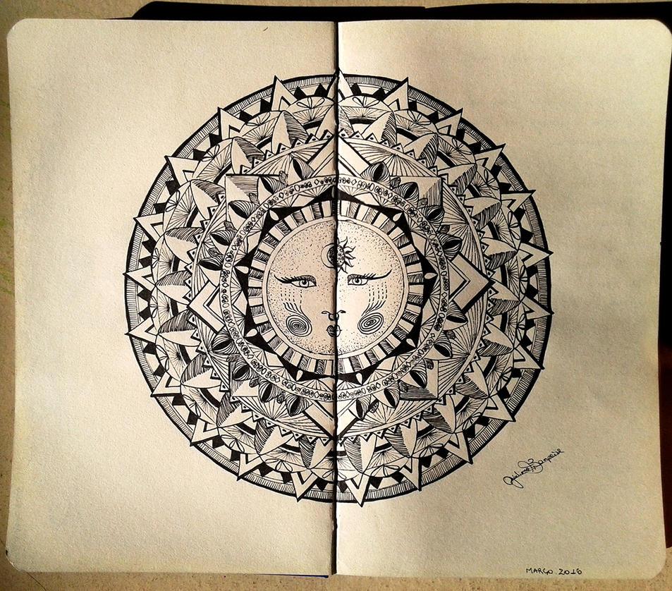 Moon Mandala by GiulianoBompeixe