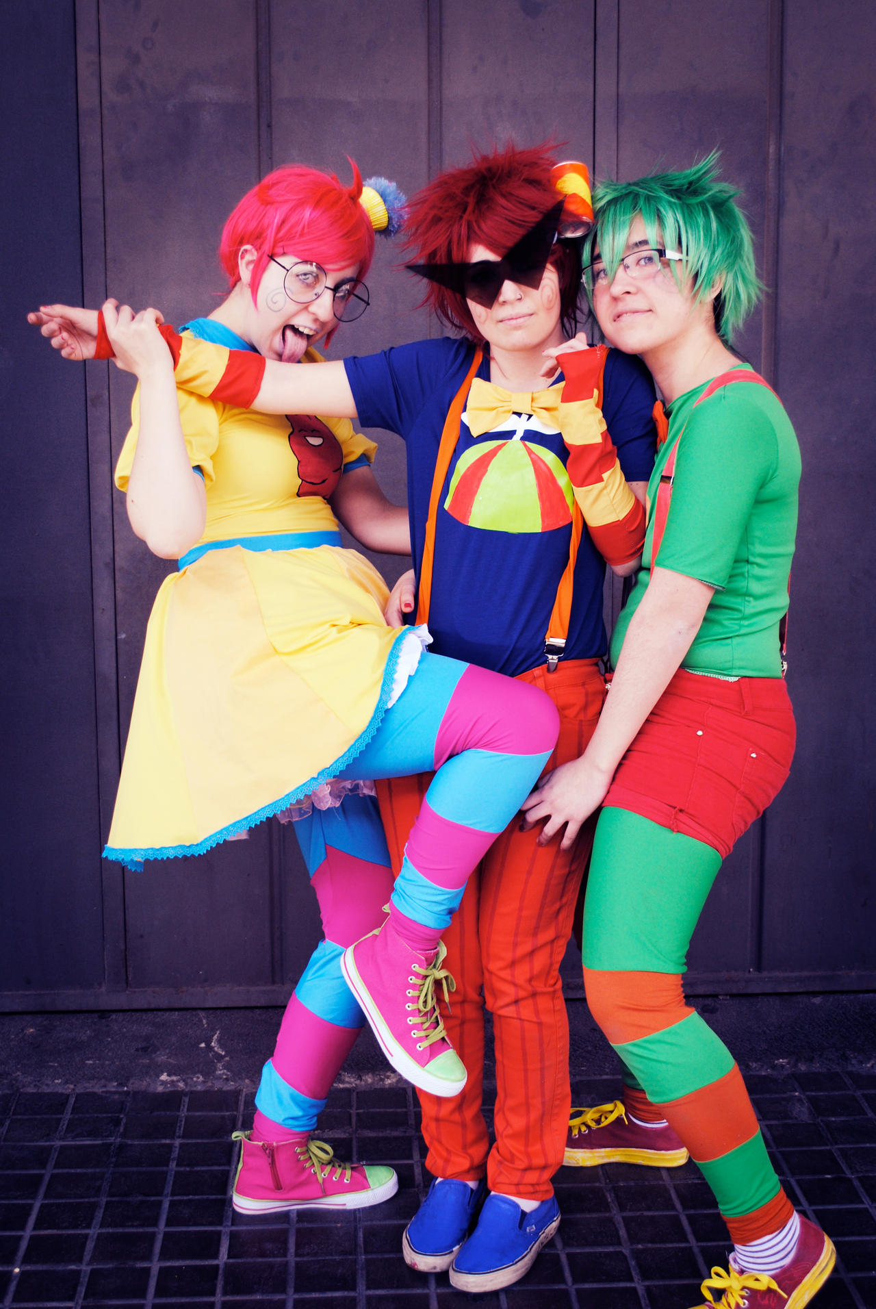 Trickster Roxy And Dirk Trickster trio by nymstarkTrickster Roxy And Dirk