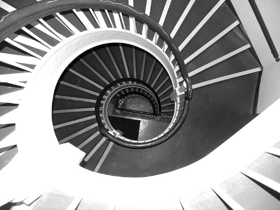 spiral staircase by BluStock