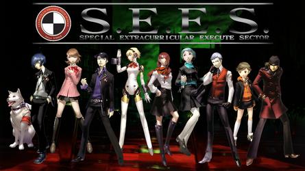 Persona 3 S.E.E.S Wallpaper by metaknightmare1234