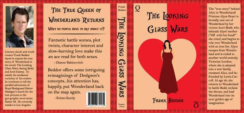 Looking Glass Wars Book Cover by metaknightmare1234