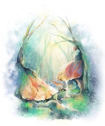 Electric mushrooms by applekisya