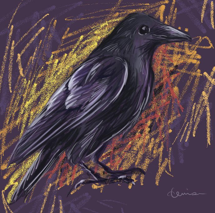Crow - Painter by denn