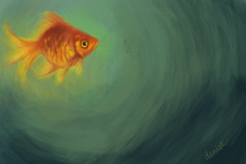 another goldfish by denn