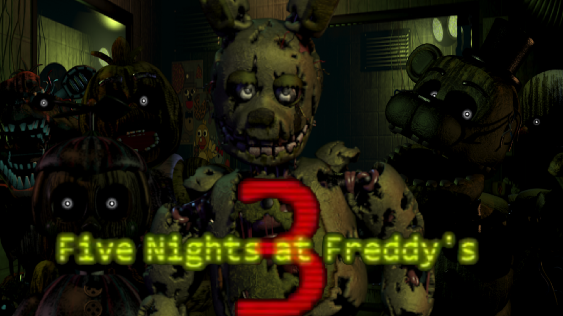 Five nights at freddy's 3 free download (v1. 0. 32) « igggames.