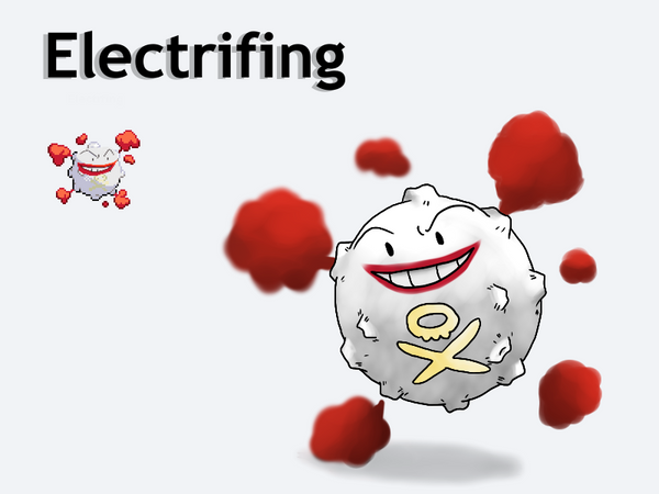 Pokemon Fusion - Electrifing by Detective-May
