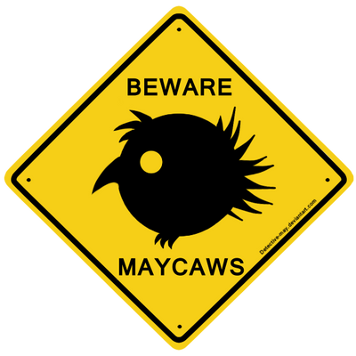 Caution, Maycaw migration by Detective-May