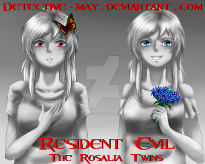 Resident Evil - The Rosalia Twins by Detective-May on DeviantArt