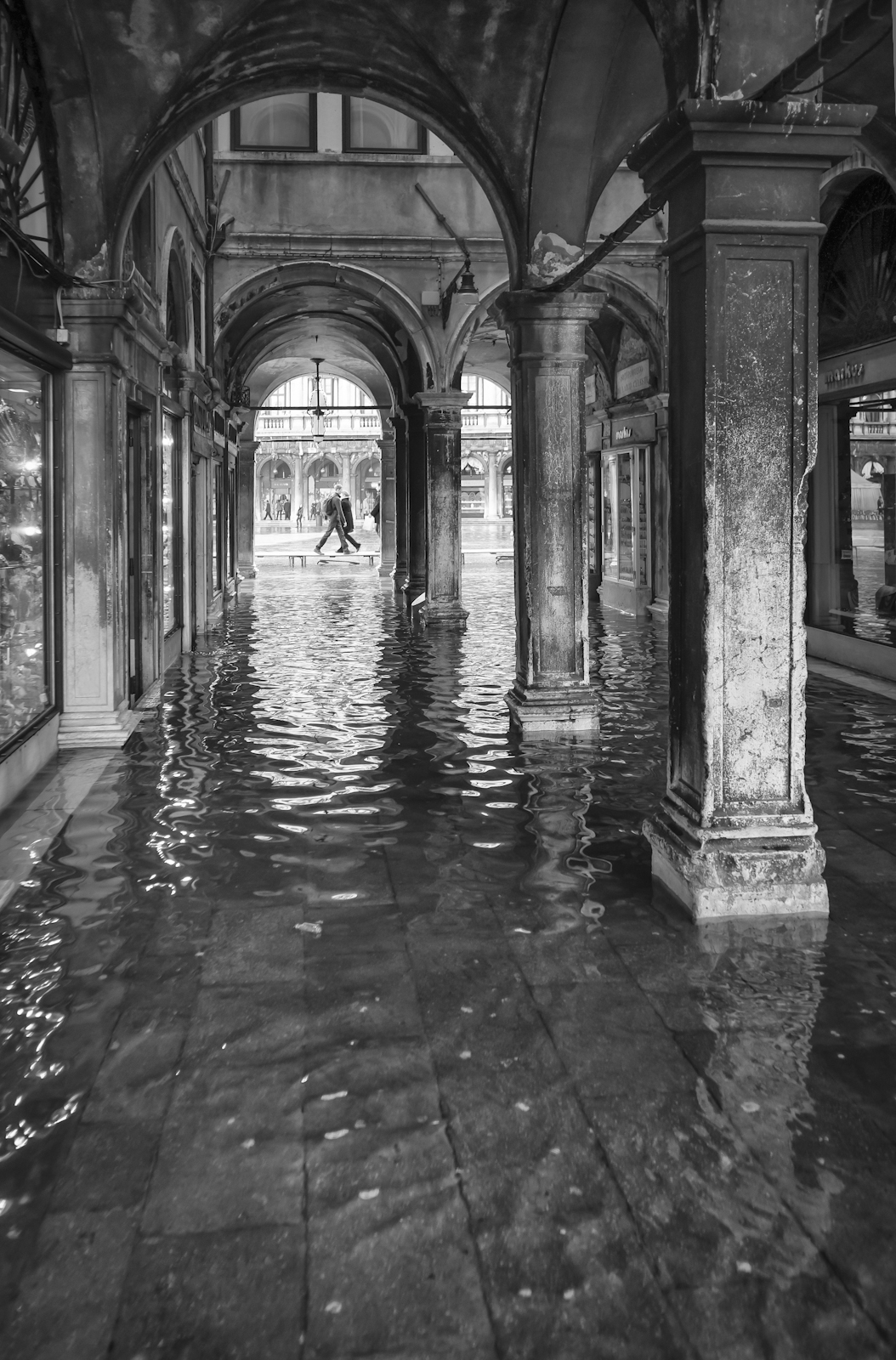 Calle Cavalletto Acqua Alta by archipirata