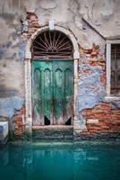 The Green Door by archipirata