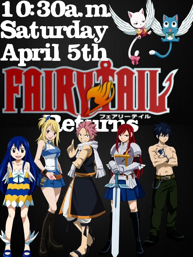 Fairy tail return date