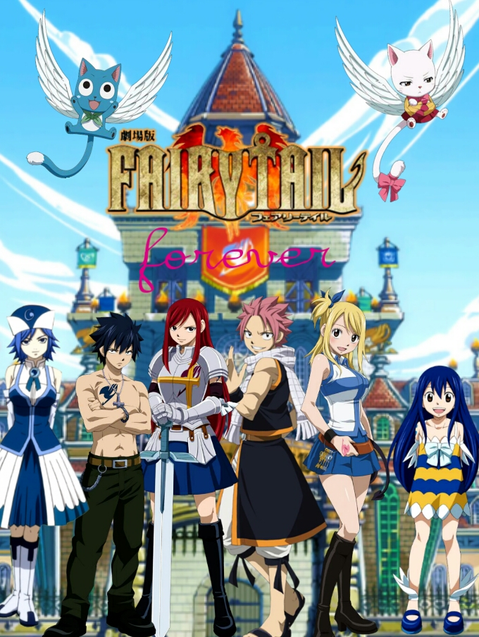 Fairy Tail Group Wallpaper By Monkeymonkey153
