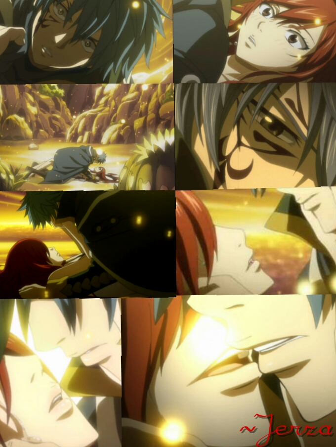 Fairy Tail Episode 154 ~ The 'Almost' Kiss by monkeymonkey153