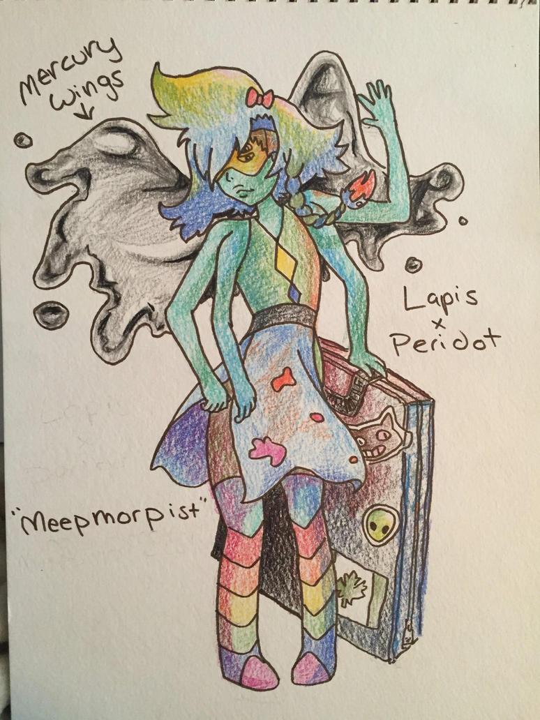 Lapis x peridot fusion by AmberFall92