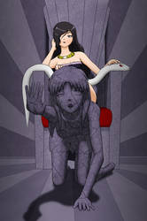 The Royal Footrest by StoneLad