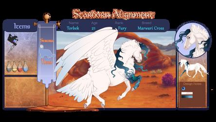 SA   Torbek   Fury by JourneyHorse