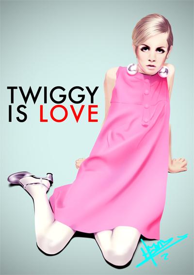 Twiggy Is Love. by hanz-uber-hanz
