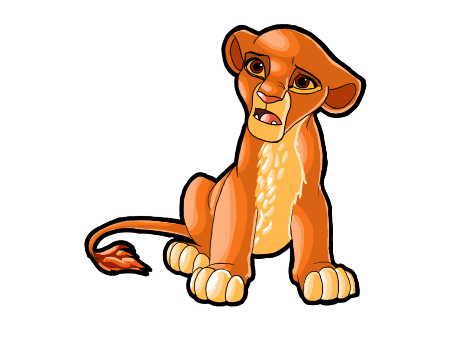 Kiara from the Lion King by Cyzashi