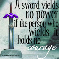 LoZ Icon--Power and Courage by Roxas--Lover