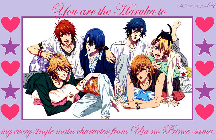 Uta no Prince-sama Valentine: We All Love Haruka by FrozenClaws on