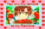 Hetalia Valentine: Tomato to my Romano