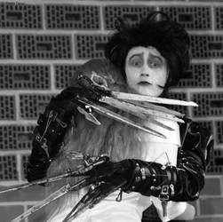 Cosplay Edward Scissorhands